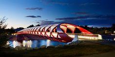 Peace Bridge, Calgary, Canada, Alan Karchmer