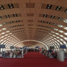 Charles de Gaulle Airport, Paris. Had some interesting times here.
