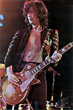 Jimmy Page. USA 1973