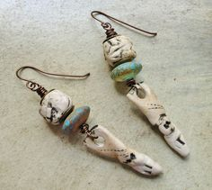 by Sheri Mallery Primitive Tribal  Earthy  Handmade by SheriMalleryHandwork.etsy.com   on Etsy, $45.00