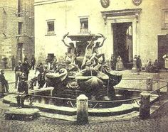 Fountain of Turtles in Rome. Jewish Ghetto, Far Away, Fresh Water, Fountain, Water Supply, Pictures, Turtles, Painting, Photographs
