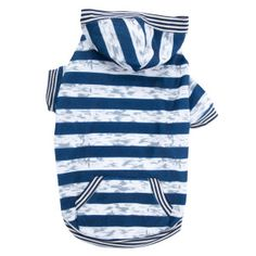 Top Paw® Striped Thermal Hoodie | Sweaters & Coats | PetSmart