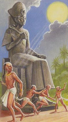 XIX - Le soleil - Ramsès : Tarot de l'éternité par Severino Baraldi