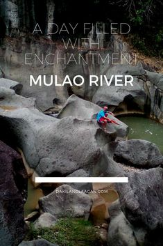Mulao River is one of the enchanting places in Cebu - with stories and legends of the Stone Ark and Malingin Rock. According to locals, they can hear the sound of a ship horning in this river located in the mountain area of Cebu. Cebu, Ark, Enchanted, Legends, Mountain, Ship, River, Stone, Places
