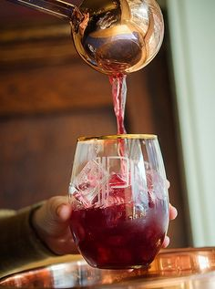 Hannah Wooley Punch via 5 Festive Punches Perfect for the Holidays – One Kings Lane — Our Style Blog