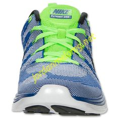 Game Royal 554887 401 Nike Flyknit Lunar 1 Mens White Black Pure Platinum