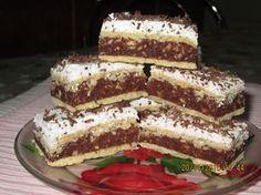 Prajituri de casa: Prăjitura Kati (Caty) Romanian Desserts, Romanian Food, Cookie Recipes, Dessert Recipes, Butter Cookies Recipe, Food Cakes, Diy Food, Sweet Recipes, Sweet Treats