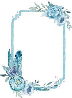 Floral Frames❤In the archive all the pictures … – Wallpaper Flower Backgrounds, Wallpaper Backgrounds, Wallpapers, Navy Wallpaper, Invitation Background, Borders And Frames, Vintage Diy, Floral Border, Flower Frame