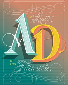 Here's the full artwork I created for @ad_spain magazine. Really happy about the result! #ad #condenast #lettering #typography by martinaflor