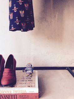 #ottodame #store #Firenze #FW15 #shoes #robot
