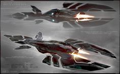 concept ships: Jupiter Ascending concept art by George Hull