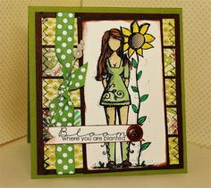 Blooming-Rebecca Girl - Unity Stamp Co