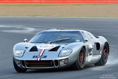 Ford GT40. No matter how many new sports cars come & go, no matter if they are more powerfull, faster, better appointed or comfortable they just don't touch this icon. They just got this right first time. GT40 old & new just have to love them ;)