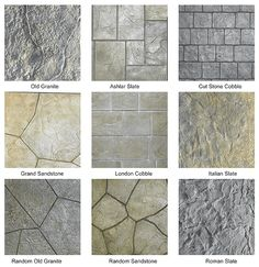 Paint Concrete Floor Coating Types Stamped Patterns Patio Cost