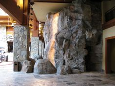 An Example of one of our giant granite artificial rock walls
