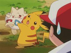 Pikachu and Togepi ^.^ ♡