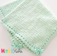 Örgü bebek battaniye modelleri - Hobikafa.com