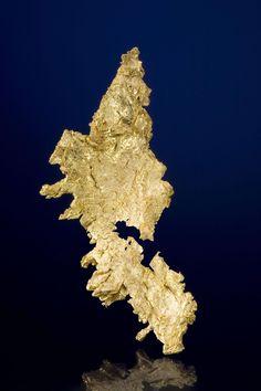 Native Gold  Round Mtn.,Mine, Nye Co., Nevada