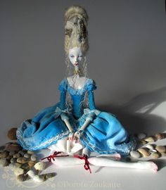 Unique Art Doll, The Little Mermaid RESERVED for Paula