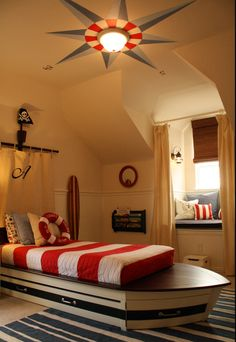 Nautical Kids Room  ⚓  perfect beach house rooms