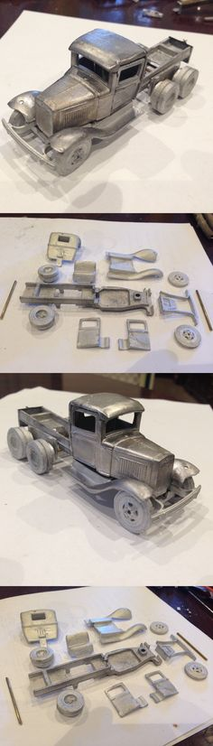 Other Narrow Gauge 9037: Ulrich O Scale 1 48 On3 On30 Ford Tandem Cab And Chassis Narrow Gauge All Metal -> BUY IT NOW ONLY: $52.99 on eBay!