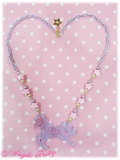 Angelic Pretty: 2013 Jewel Carnival Pony Necklace in lavender