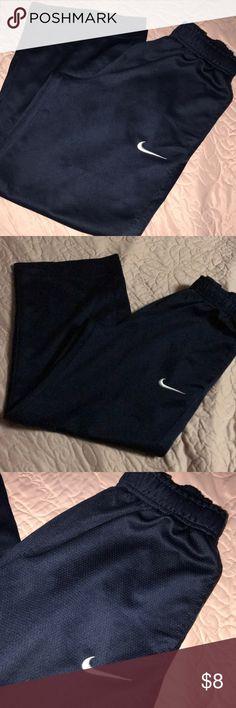 Boys Nike navy  pants Good conditions, loose flare , drift Nike Bottoms Sweatpants & Joggers