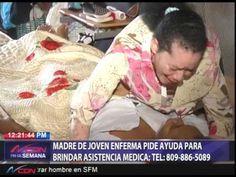 Señora pide ayuda para tratar hija enferma