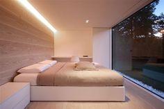 Rustgevende slaapkamer.