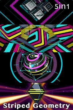 Striped VJing - VJ Loops Pack (5in1)