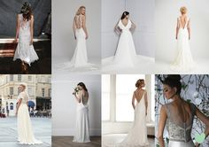 2015 Wedding Dresses with Beautiful Back Detail Mood Board from The Wedding Community