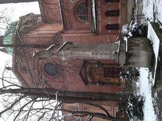 Sankt Ursula. Die Kirche blieb unversehrt im Krieg. In meinem Wohnviertel.