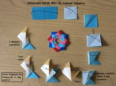 Origami Ring #01 by Lidiane Siqueira