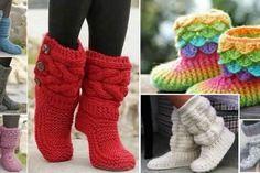 Pour un hiver bien au chaud, nous vous proposons aujourd'hui 5 patrons gratuits pour faire vous même des pantoufles. Pas besoin d'être une pro du tricot, vous verrez que c'est un vrai jeu d'enfant...