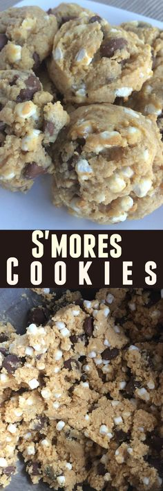 S'mores Cookies   Together as Family
