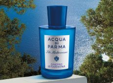 Acqua di Parma fragrances: Acqua di Parma has been a leading player in the luxury sector for almost 100 years. Its history began in a small Italian perfume factory in Parma, synonymous with savoir-vivre in during the time of Verdi and later elevated to romantic dignity in Stendhal's writing.