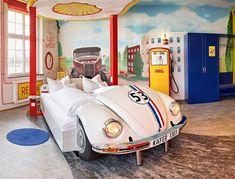 ¡V8 es el hotel ideal para los amantes de los automóviles!