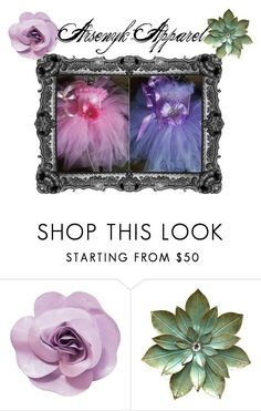 """Arsenyk Apparel"" by mandyarsenyk on Polyvore featuring Chanel Tutu, Purple, Pink, Chanel, Flowers, Polyvore, Clothes, Beauty, Fashion"