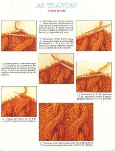 Aprenda A Fazer Tricô N°1-Os Pontos Básicos Diy Crafts Knitting, Crochet Clothes, Smocking, Knitting Patterns, Knit Crochet, Stitch, Handmade, Macrame, Fashion