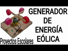 """COMO HACER UN GENERADOR DE ENERGÍA EÓLICA CASERO 