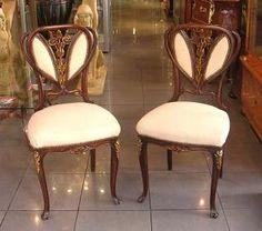 Muebles Art Nouveau: la extrema elegancia   Decoración