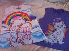 #LisaFrank #unicorn #cat #shirt