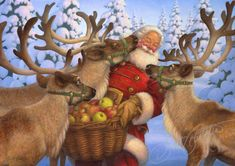 Santa's Treat — The Art of Scott Gustafson