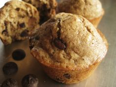 Cappuccino chocolate chip muffins  Changes: 1/4 cup brown sugar 1/2 cup sugar 1 cup chips 2 tsp vanilla 2 tbsp cappuccino mix (1 packet) and 1 tbsp coffee