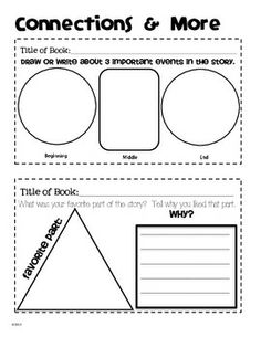 GUIDED READING JOURNAL POST-ITS: 2ND & 3RD GRADE - TeachersPayTeachers.com