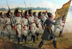 Assalto della fanteria austriaca