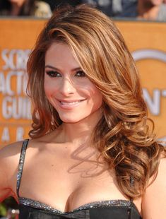Celeb Hairstyle of the Week: Maria Menounos SAG Awards curls
