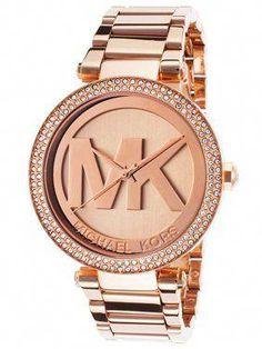 af80cdeaa40c Michael Kors Women s Parker Rose Gold-Tone Watch MK5865  bestbrands