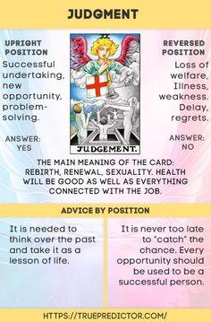 The Judgment — tarot card interpretation and meaning — True prediction