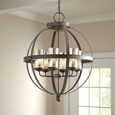 Tuscany 6-Light Shaded Chandelier, foyer?